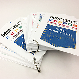 Printed and bound DRDP (2015) manuals