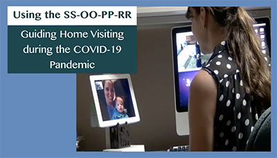screenshot of video Guiding Home Visiting during the COVID-19 Pandemic